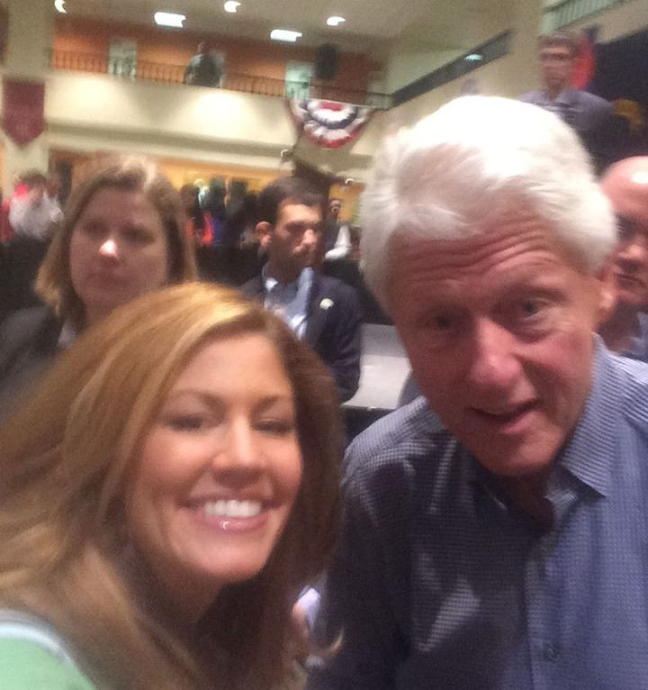 Jill covers presidential race. Frmr Pres. Bill is campaigning on behalf of Hillary.
