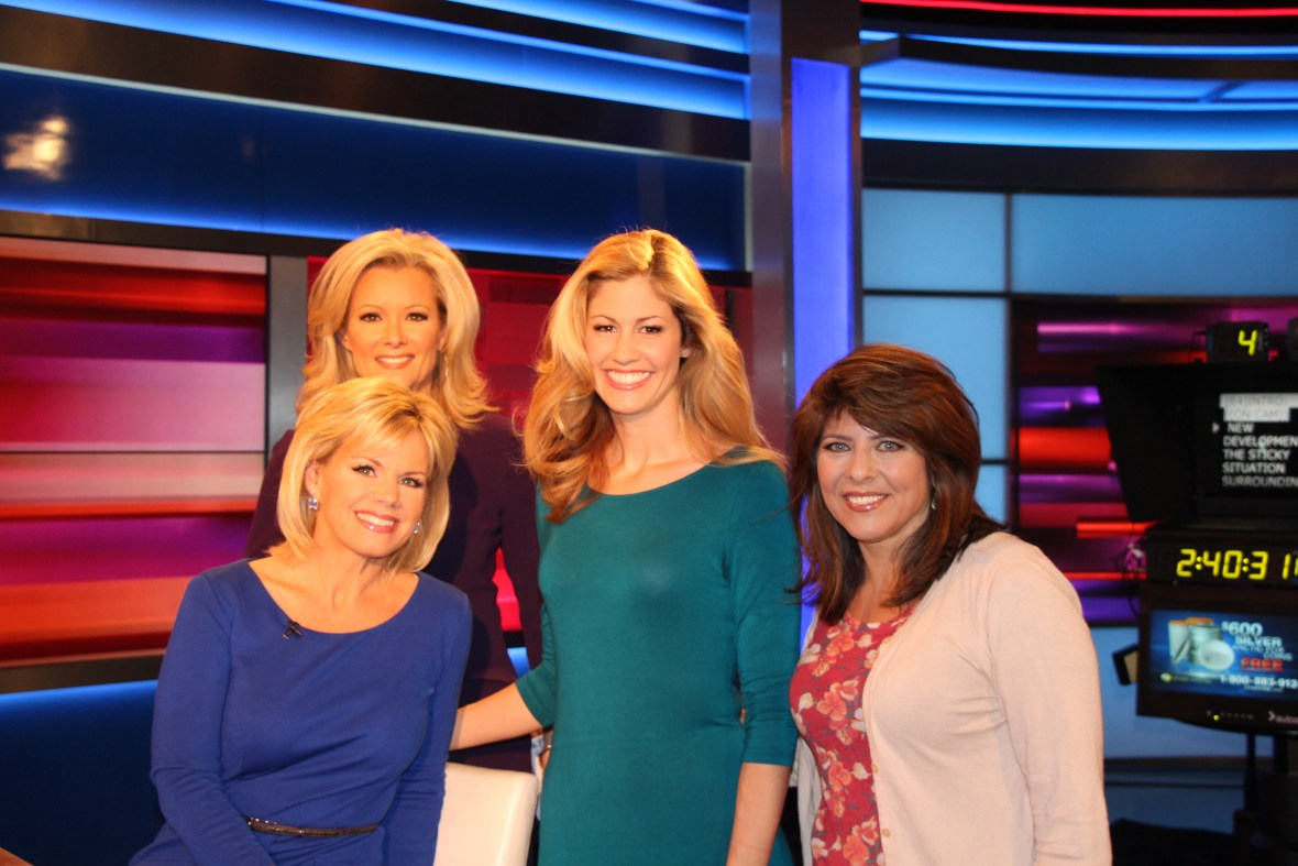 Jill on FOX news in NYC. The Female Power Panel 12-11