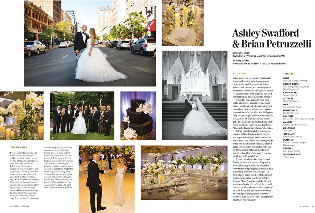 boston weddings magazine mandarin