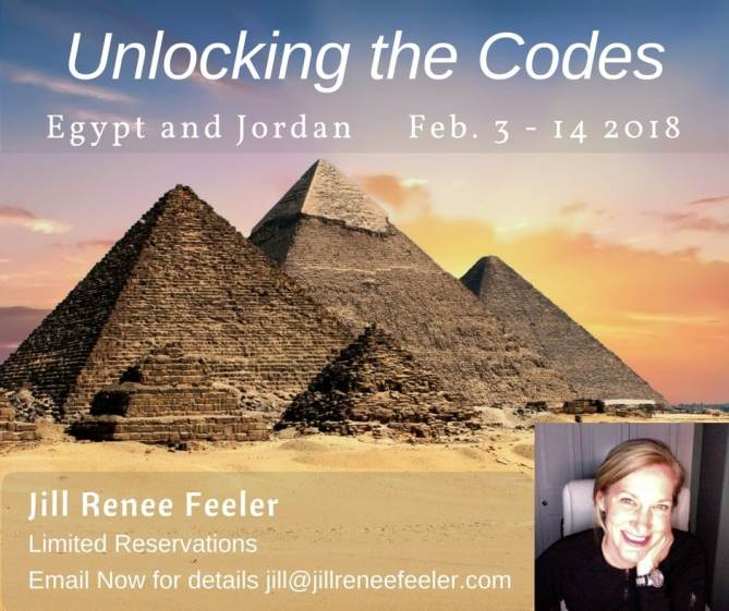 Unlocking the codes Egypt and Jordan Feb 3 - 14 2018