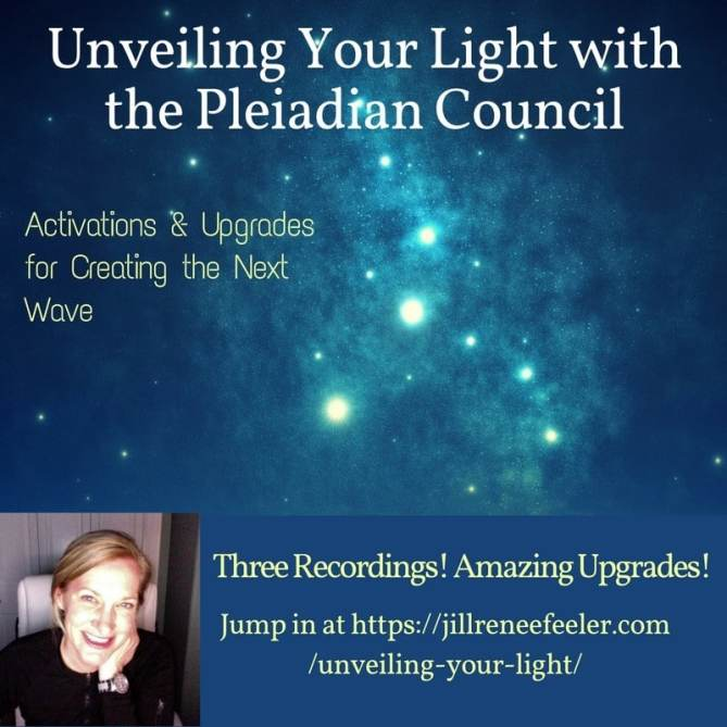 Unveiling Your Light with the Pleiadian Council Social Media Square