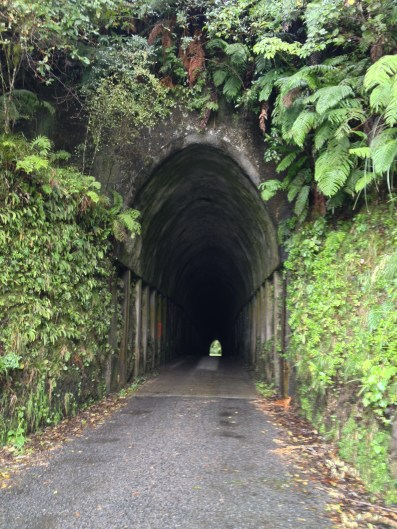 The tunnel on Makahu Road, a few Ks off Highway 43