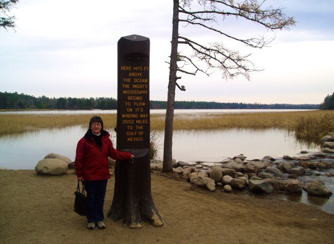 Me at the source of the Mississippi, 2006