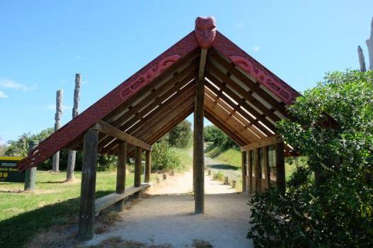 The entrance to Otarara Pa