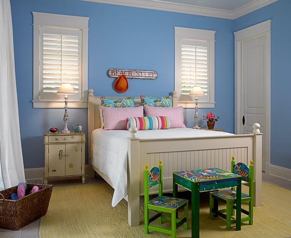 Beachy Kids Bedroom