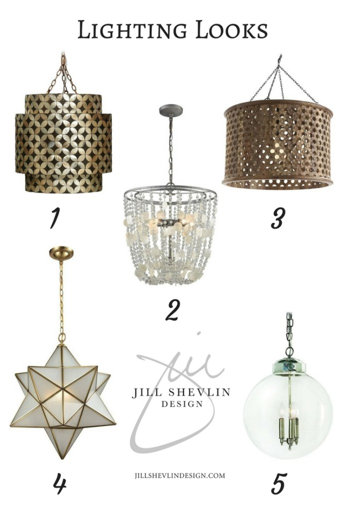 Lighting Looks Fab Finds Jill Shevlin Design Interior Designer, Vero Beach Designer