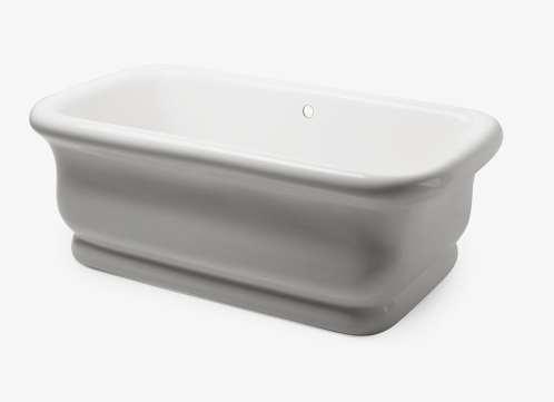 A free standing waterworks tub, Jill Shevlin Design, Vero Beach Interior Designer, Home Renovation, Orchid Island