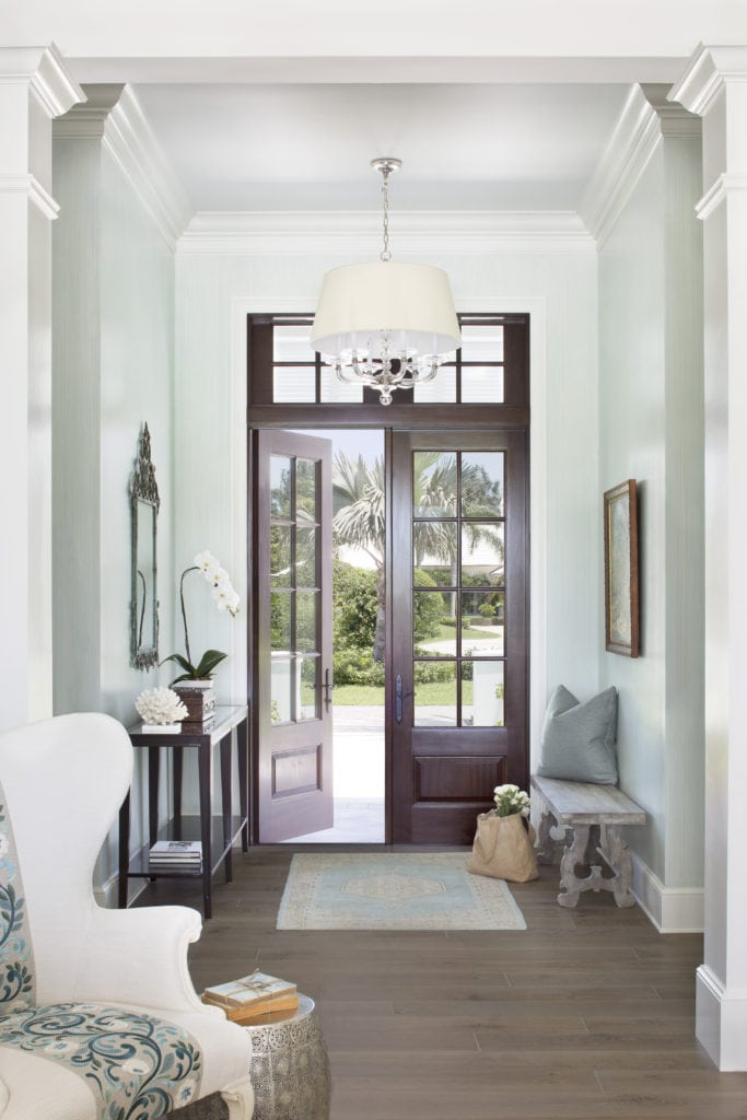 Entry New Construction Project Jill Shevlin Design Vero Beach Interior Designer Orchid Island