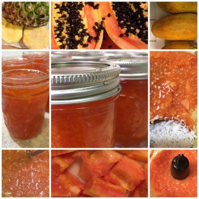Papaya & Pineapple Conserve