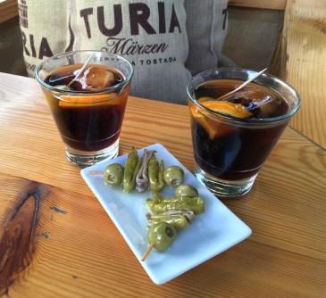 vermouth and banderilla