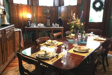 Dining room at 10 Clarke Place