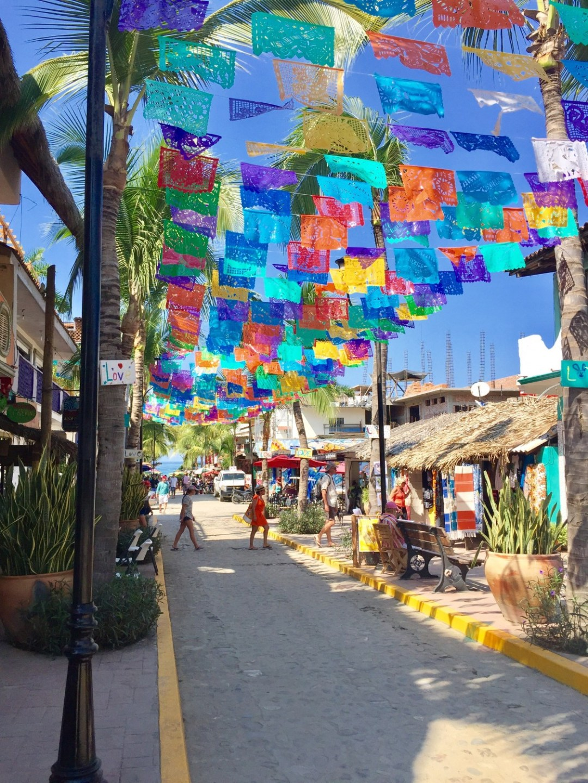 sayulita street view punta mita