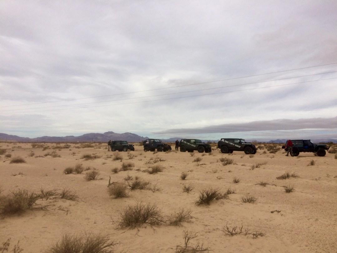 Mojave Trail jeep
