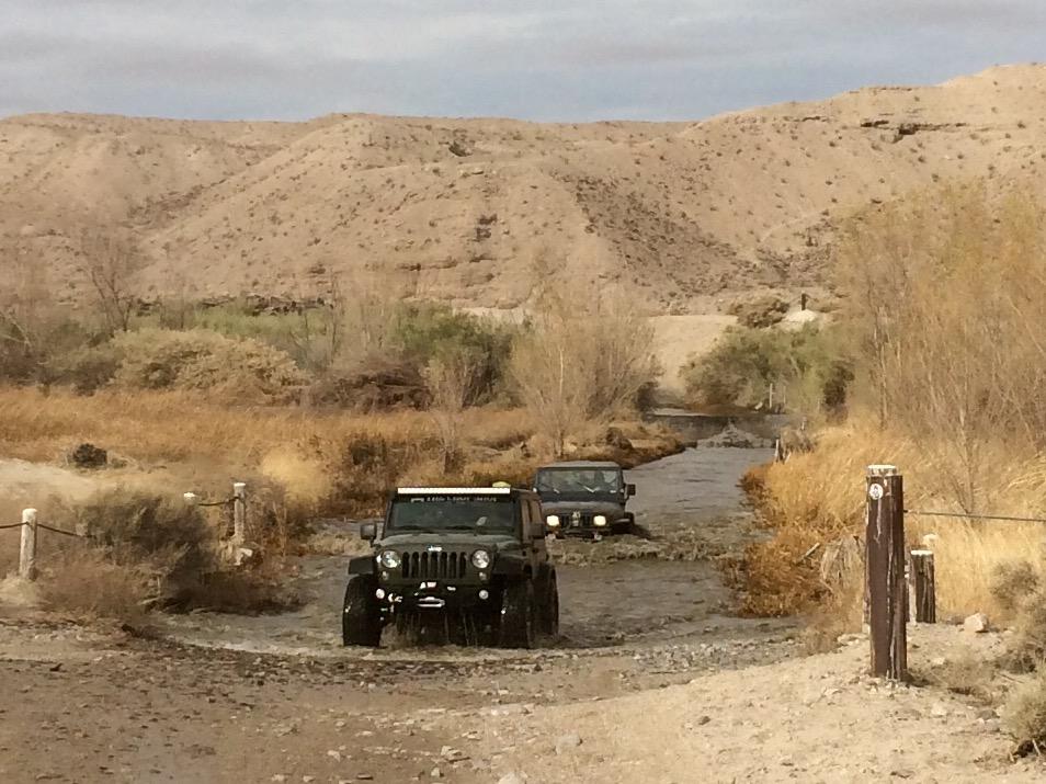 Mojave Trail Mojave River crossing