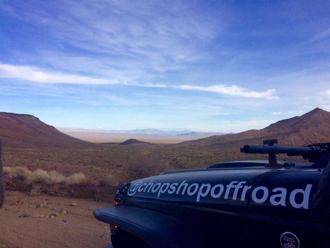 Mojave Trail closed road