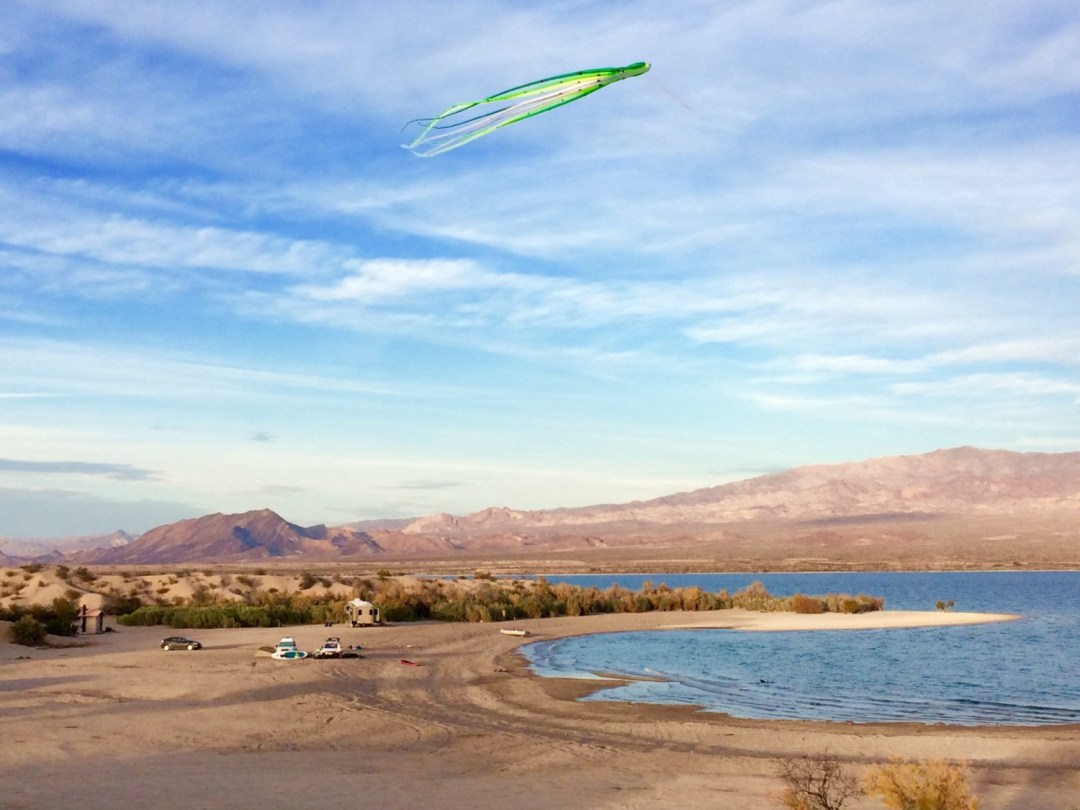 kitesurfing lake mohave 6 mile cove