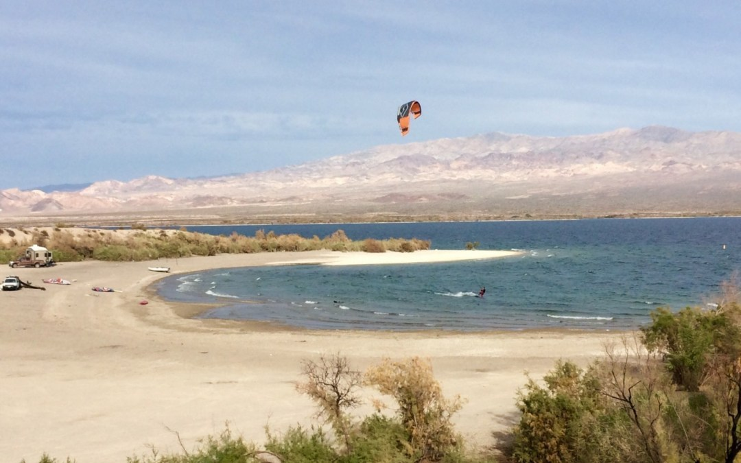 kitesurfing lake mohave – 6 mile cove