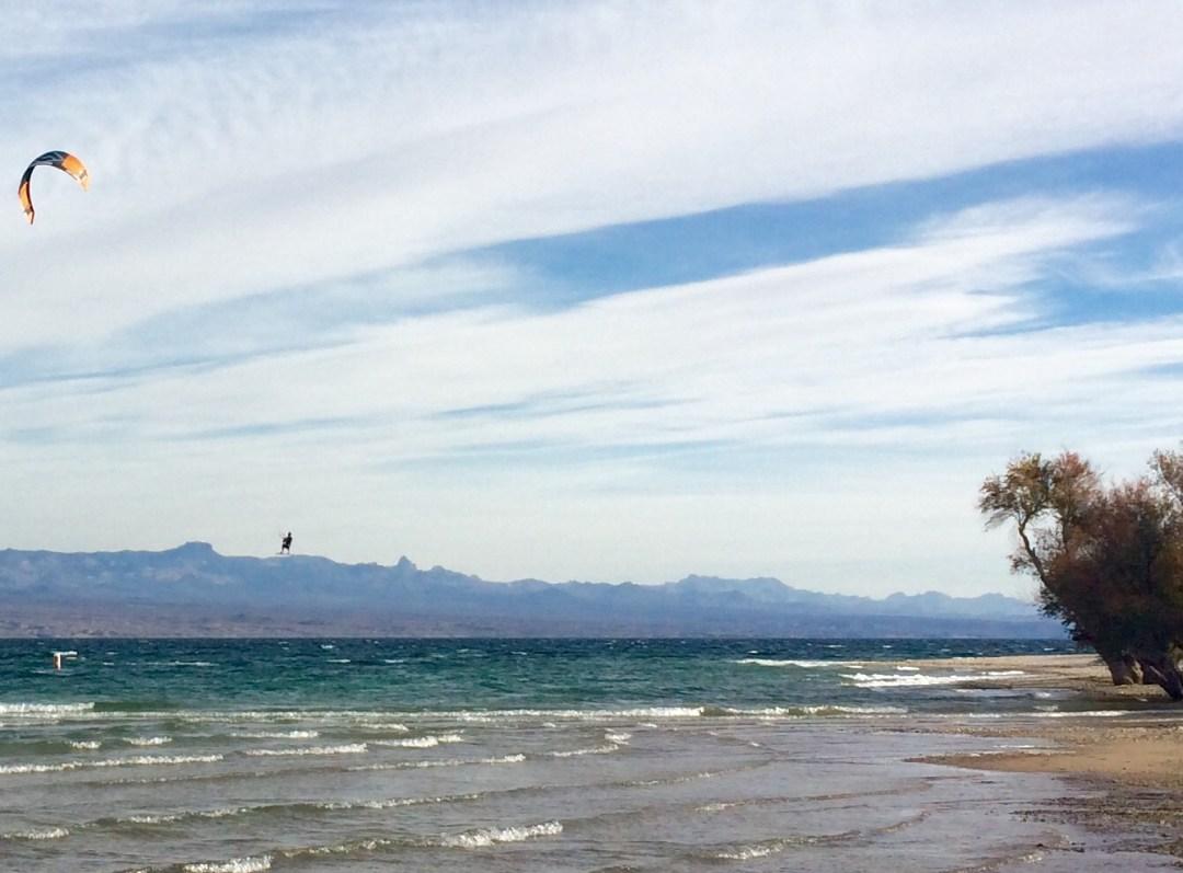 kitesurfing lake mohave 6 mile cove
