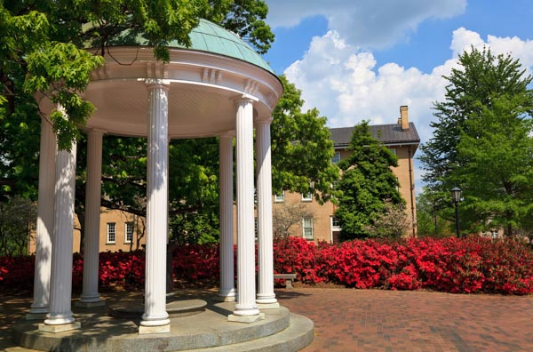 Old Well at UNC Chapel Hill