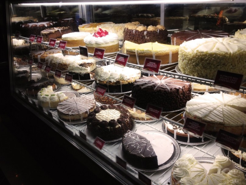 Cheesecakes aus der Cheesecake Factory