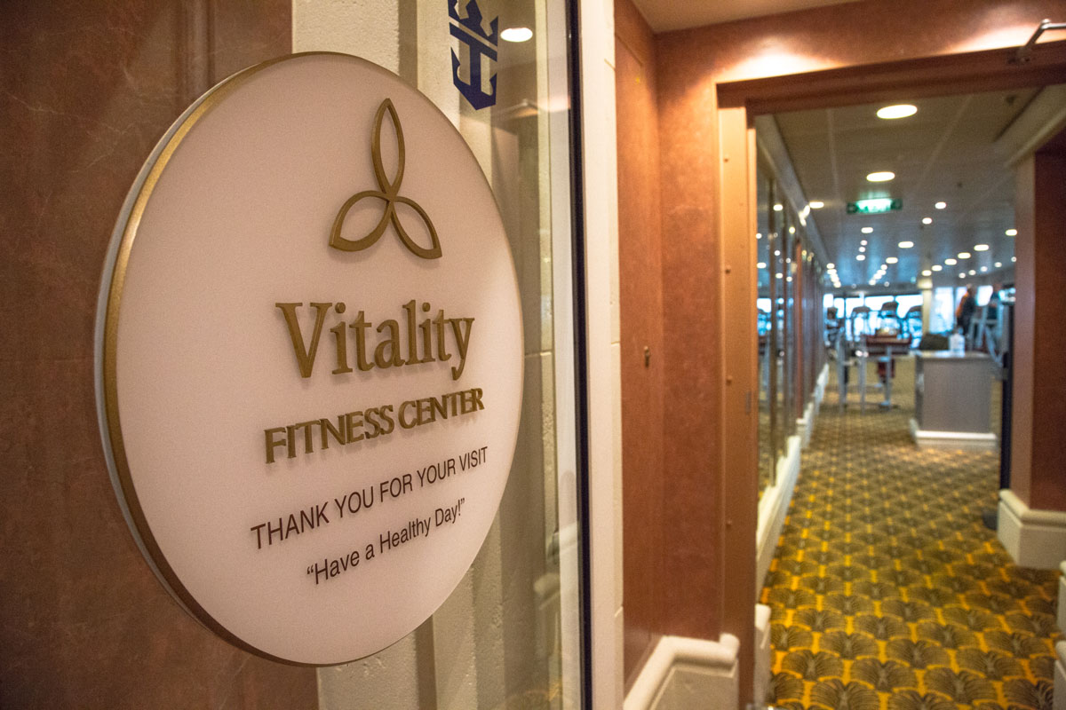 Vitality Day Spa & Fitnesscenter auf der Serenade of the Seas