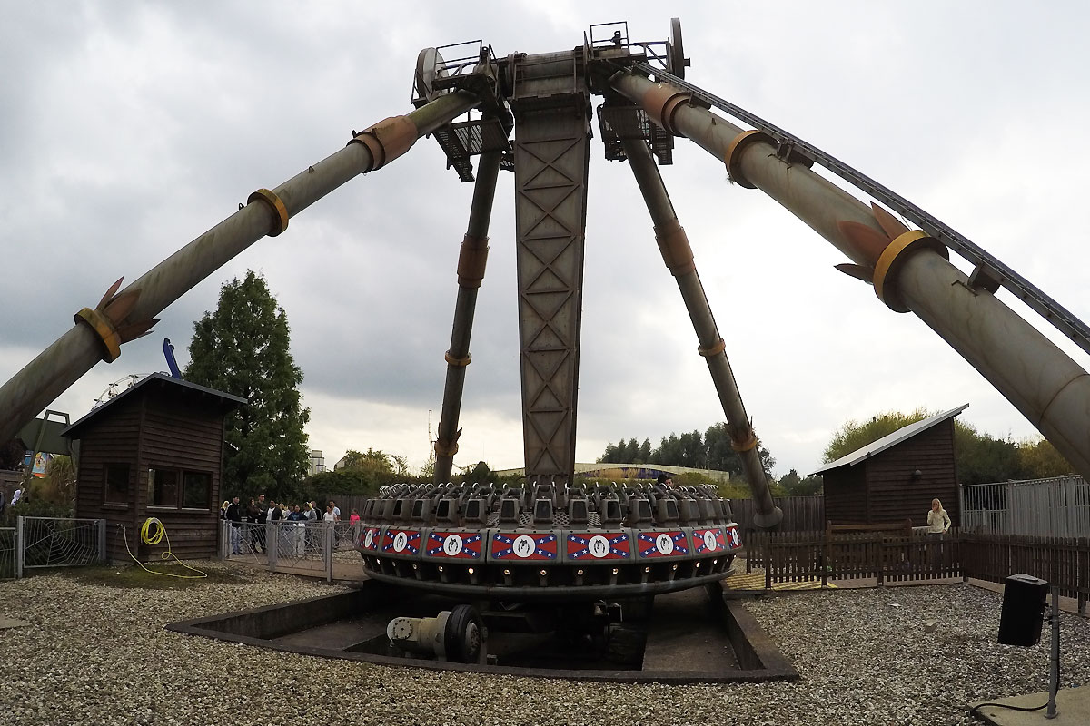 Side Kick im Movie Park Germany