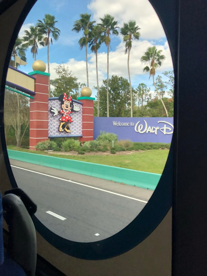 Travel Update (NJ to Orlando travel day)
