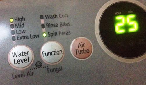Water Level Mesin Cuci Samsung WA80V4 tidak Berfungsi