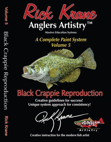 PAINTING A BLACK CRAPPIE