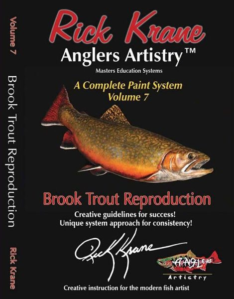 PAINTING A BROOK TROUT