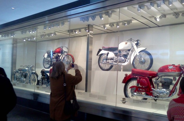 Bikes on Display