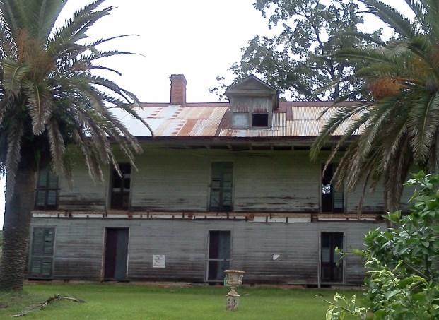 Slaveowner's retirement house, in ruins