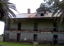 Another view. The guide said this house was abandoned after the Civil War.