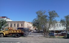 Alpine, Texas, from the train