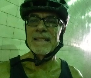 In 2nd Street Tunnel under Bunker Hill