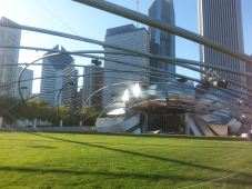 Chicago from Millennium Park