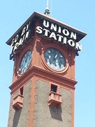 Portland Station closeup