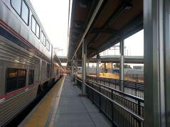 Sacramento station stop