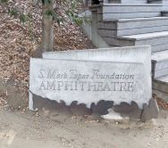 Mark Taper Amphitheatre sign!
