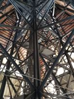 This is amazing - the inner support structure for the cupola atop City Hall.