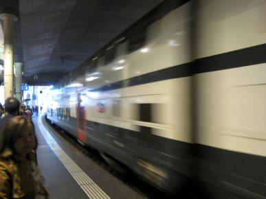 095 Arriving Train