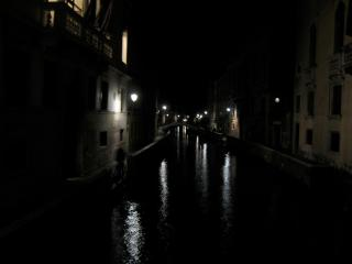 335 Canal at night