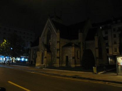 PIC_0058 Geneva at Night with Church