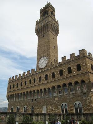 1211 Palazzo Vecchio from Uffizi