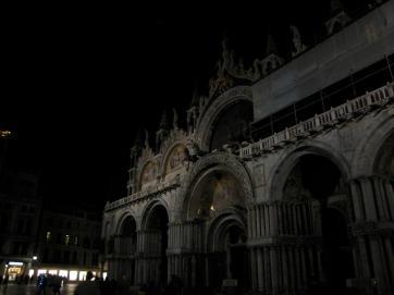 509 St Marks Bacilica at Night