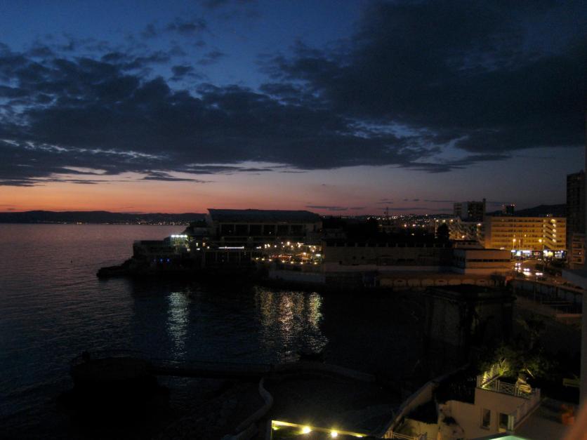 1698 Sunset over Marseille
