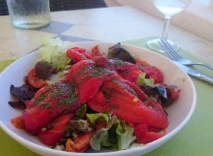 1706 Lunch - Grilled Peppers