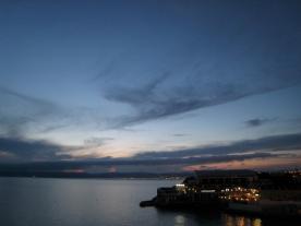 1713 Sunset over Marseille