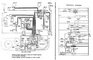 1935 Austin Ten Lichfield, Wiring diagram