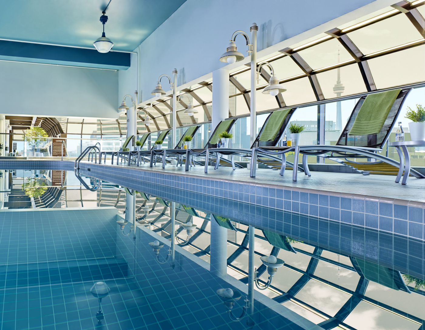 Deck 27 pool